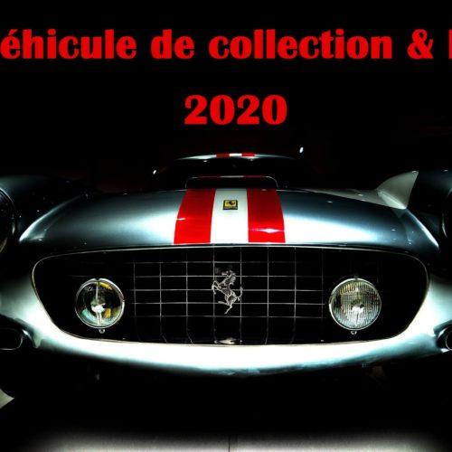Edition 2020 Véhicule de collection & Droit