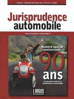 jurisprudence automobile 90 ans